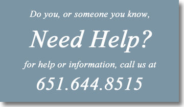 Need Help? Call us at 651-644-8515